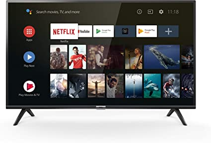 TCL 40ES560 Smart TV de 40 Pulgadas con Full HD, HDMI, USB, WiFi y sintonizador Triple, Color Negro string: Amazon.es: Electrónica