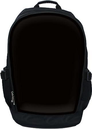 Black Luxburg Luxury Designer 15-Inch Backpack//Rucksack for Laptop with Metal Handle