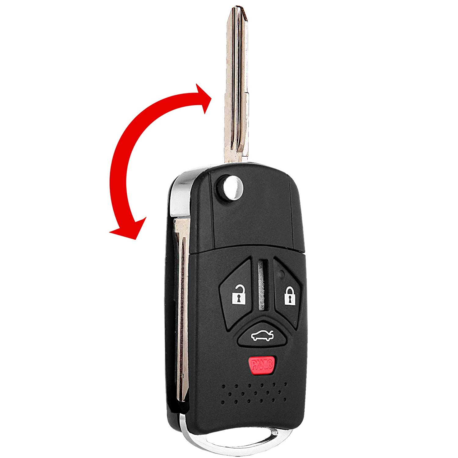 Scitoo 2 New Replacemnet Flip Remote Key FOB Keyless Shell Case For MitsubishiG Uncut