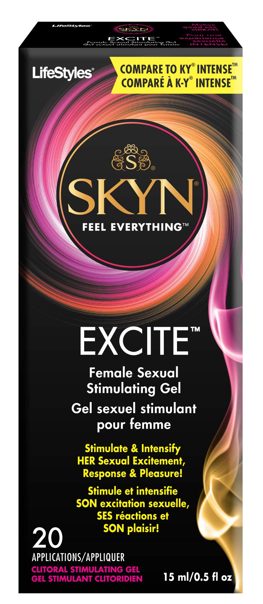 SKYN EXCITE Female Sexual Stimulating Gel, 0.5 Ounce