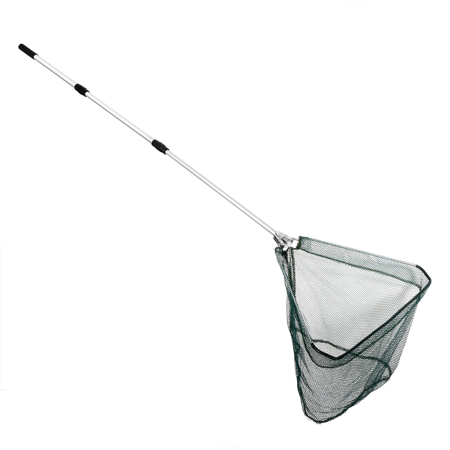 Folding fishing net telescopic fishing landing net for Telescoping fishing net