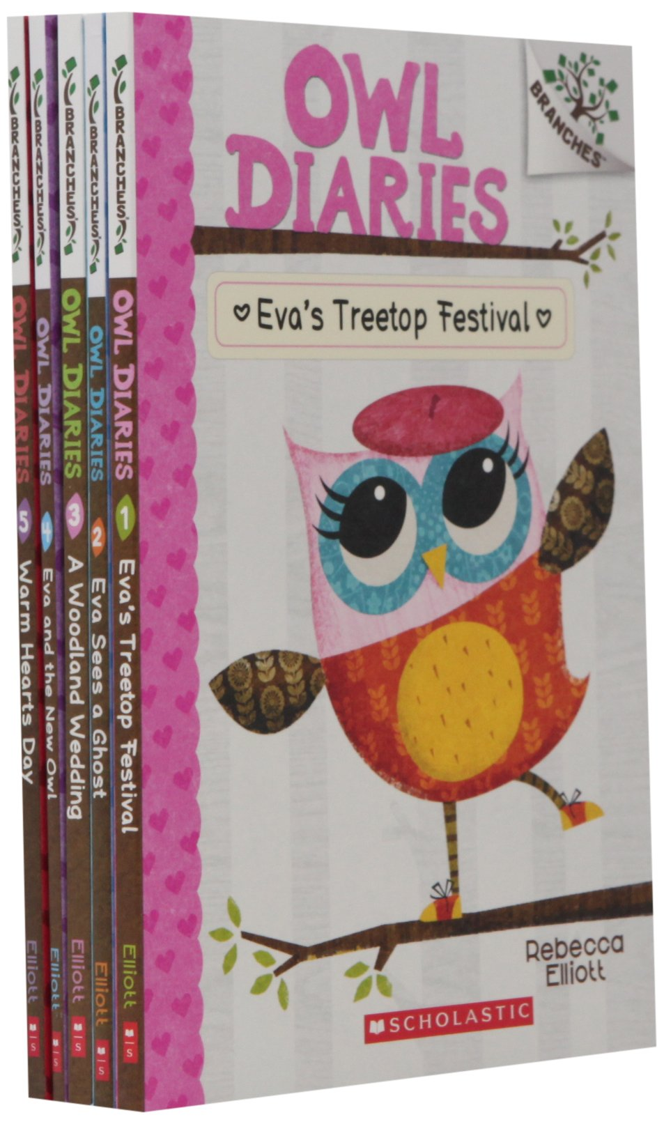 Owl Diaries Books 1 5 Branches product image