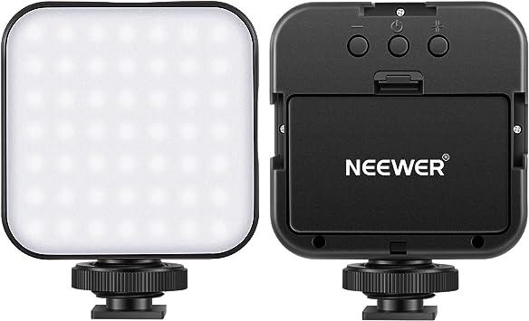 Neewer Ultrahelle Mini Led Videoleuchte 49 Dimmbare Kamera