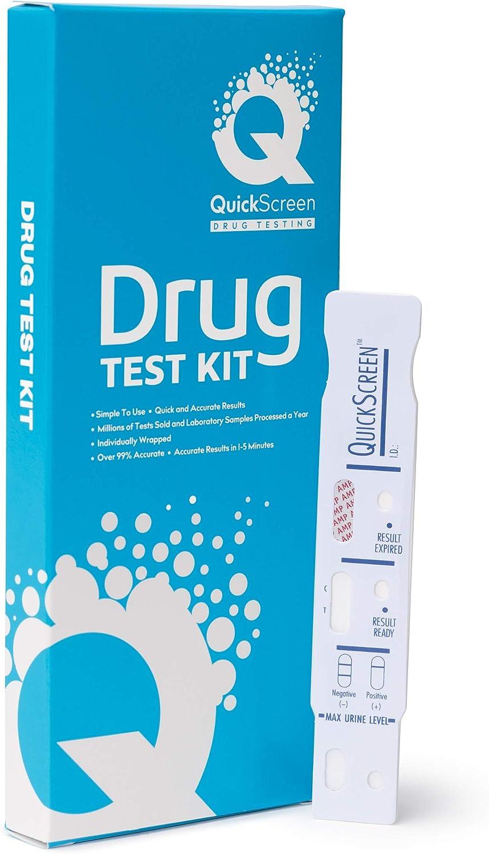 QuickScreen Single Panel Amphetamine Drug Test (5)