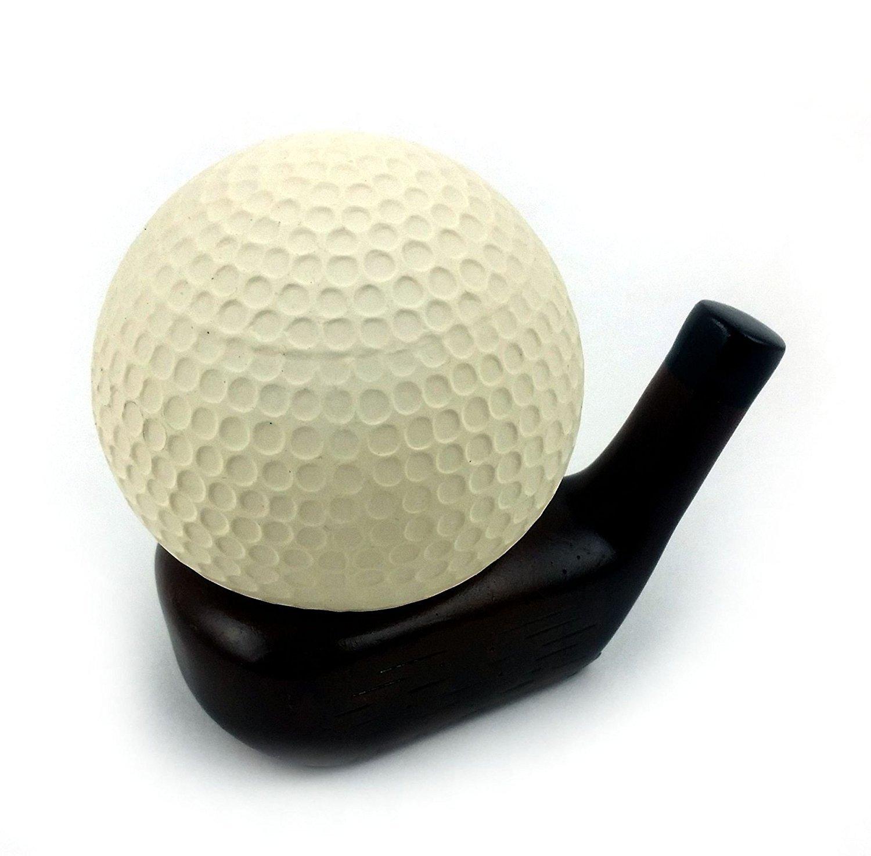 Amazon Com Football Stress Ball With Helmet Stand Health