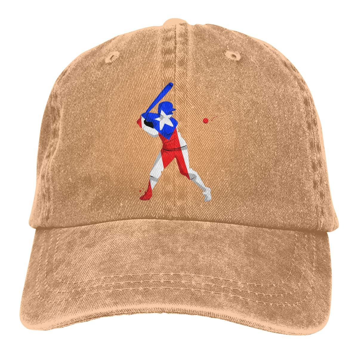 DeniCar Unisex Adjustable Baseball Caps Cody-Bellinger-Vector-Pattern Cowboy Skull Cap
