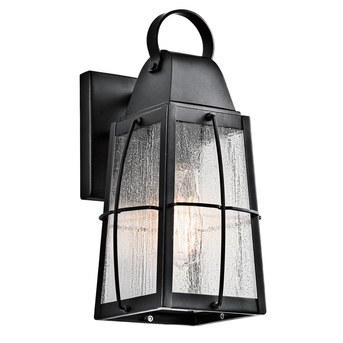 Kichler 49552BKT Tolerand 1-Light 12'' Outdoor Medium Wall in Textured Black