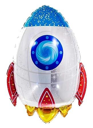 Cohete Espacial Globo de Mylar
