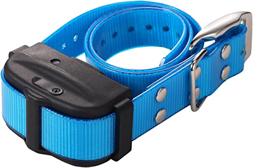 Pet Resolve Extra Dog Training Collar for the Shock and Vibration System DT- V with the Blue Border.