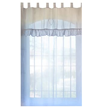 Blanc Mariclo \'Weiß mariclo – Vorhang lang weiß zu Herzen Tenda weiß ...