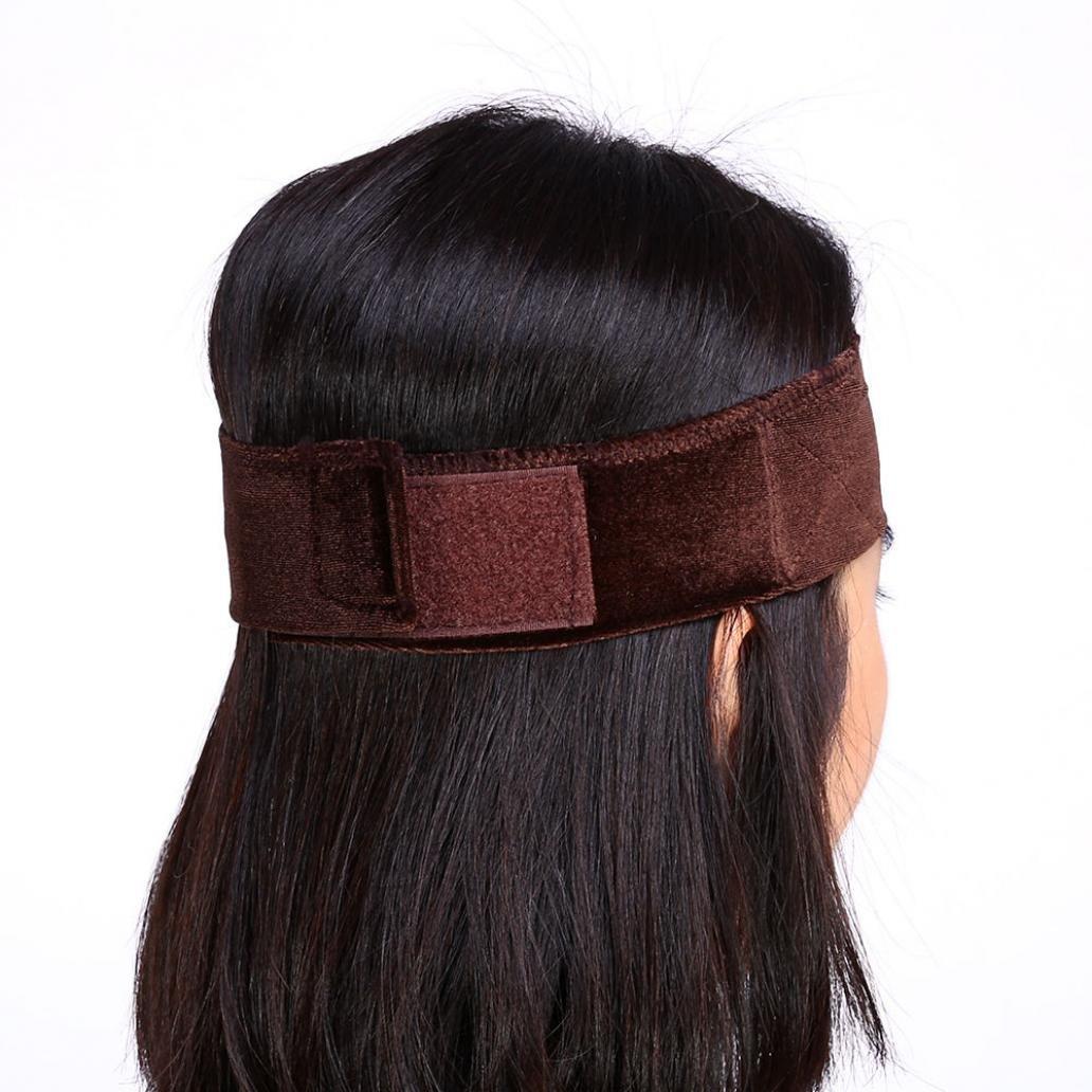 Stirnband Haarband Kopfband Komfort und Flexibel Headband mit Zähne