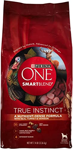 One Purina Smartblend True Turkey Venison Adult Dog Food