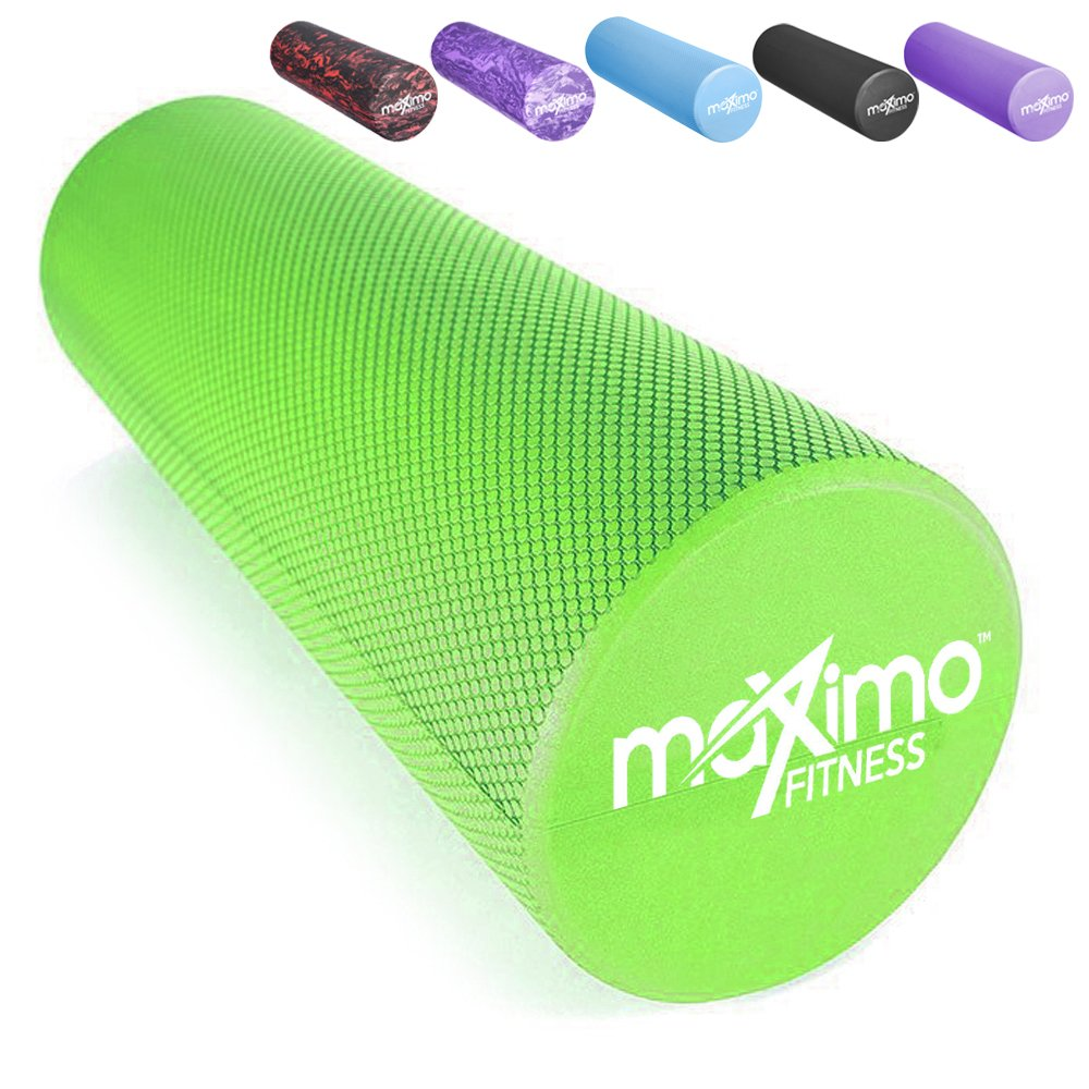 Maximo Fitness Rodillo DE Espuma - EVA - 15cm * 45cm, Peso Ligero - Proporciona