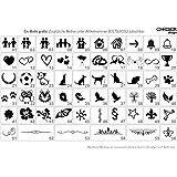 Motivgravur Gravur Türklingel Türschilder Briefkastenschilder Edelstahlplatten von CHRISCK design