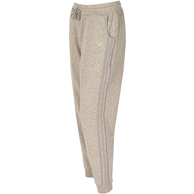 pantaloni tuta adidas grigi donna