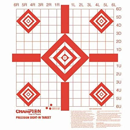 graphic regarding Printable Zeroing Targets known as : Winner Redfield Style and design Accuracy Sight-inside of