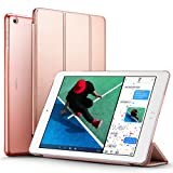 Amazon Price History for:New iPad 2017 iPad 9.7 inch Case, ESR Ultra Slim Lightweight Smart Case Trifold Stand with Auto Sleep/Wake Function, Microfiber Lining, Hard Back Cover for Apple New iPad 9.7-inch,Rose Gold