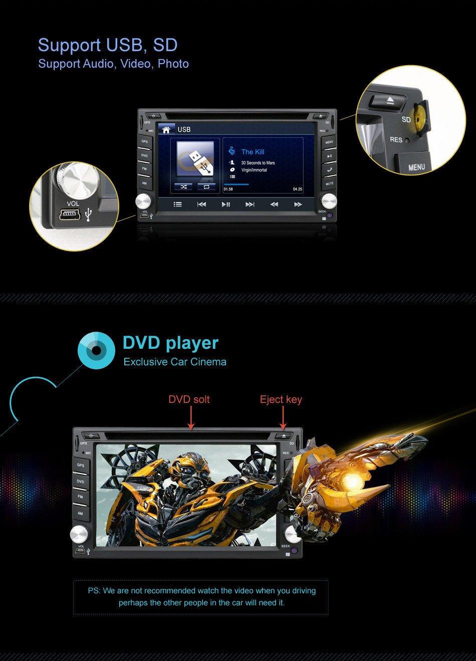 Navigation Seller 2 Din Radio Car Dvd Player Gps Nav Wiring Diagram Tape Recorder Autoradio Cassette For Steering Wheel