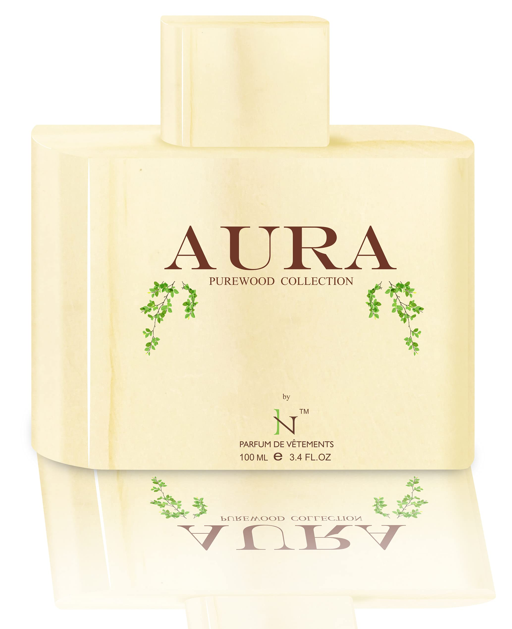 Incense Creations AURA Perfume for Him and Her, 100ml | Premium Strong & Long Lasting Fragrance | Aromatic Woody Spicy