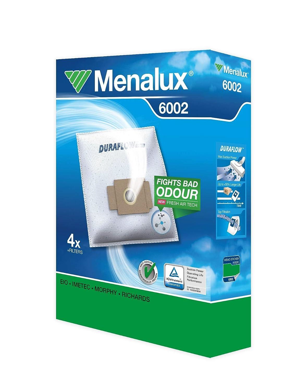 Amazon.com: Menalux Duraflow 6002 - Bolsas para aspiradoras ...
