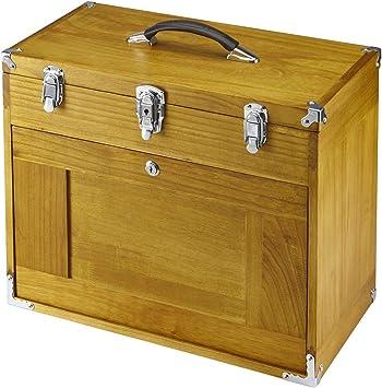 Ocho cajón madera herramienta pecho: Amazon.es: Bricolaje y herramientas