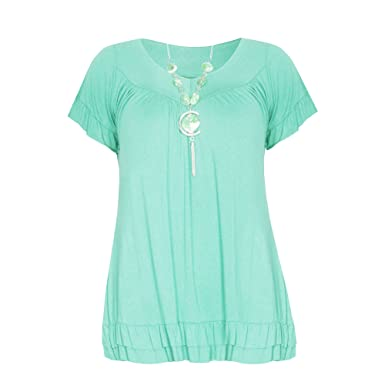 0b79f954263 Home ware outlet Ladies Womens Gypsy Tunic Top UK Size (10-28): Amazon.co.uk:  Clothing