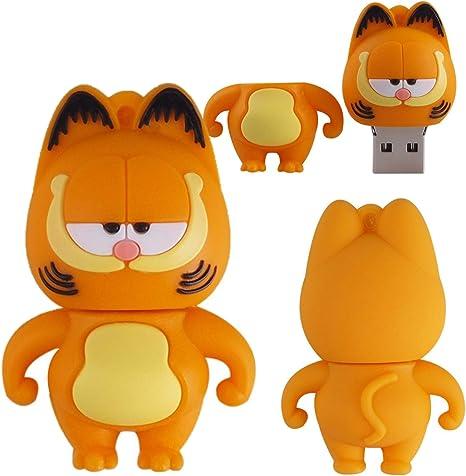 Pen Drive 32gb Garfield Desenho Infantil Chaveiro Usb 2 0 Amazon