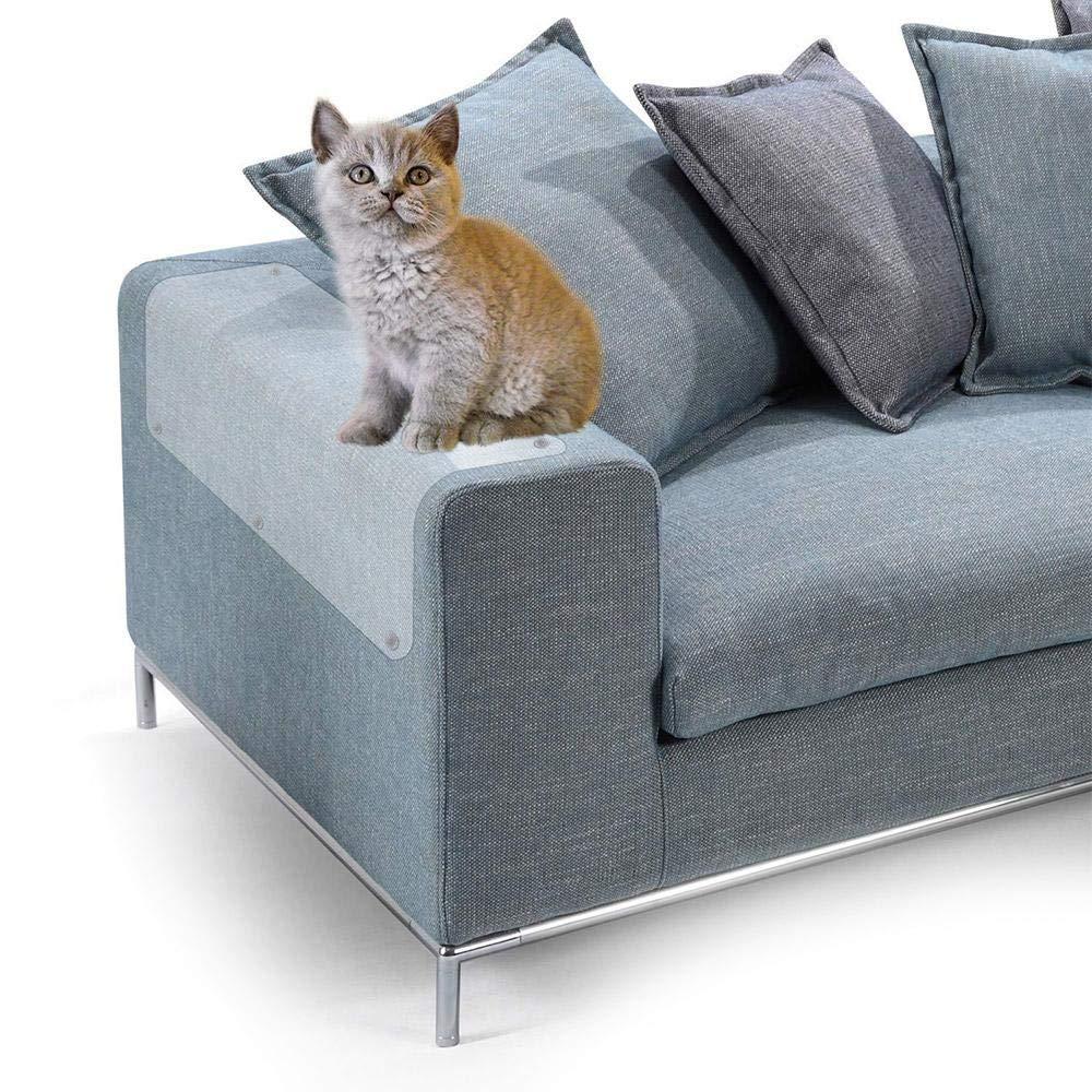 KOBWA - Protector de plástico para Gatos contra arañazos, para Puertas, Gatos, Gatos, Protectores de arañazos, Protectores de Muebles para Mascotas (2 ...