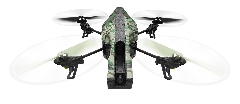 パロット エイアール ドローン 2.0 エリートエディション HDカメラ付 クワッドコプター (ジャングル) 【日本正規品】 B00GMVZJ84