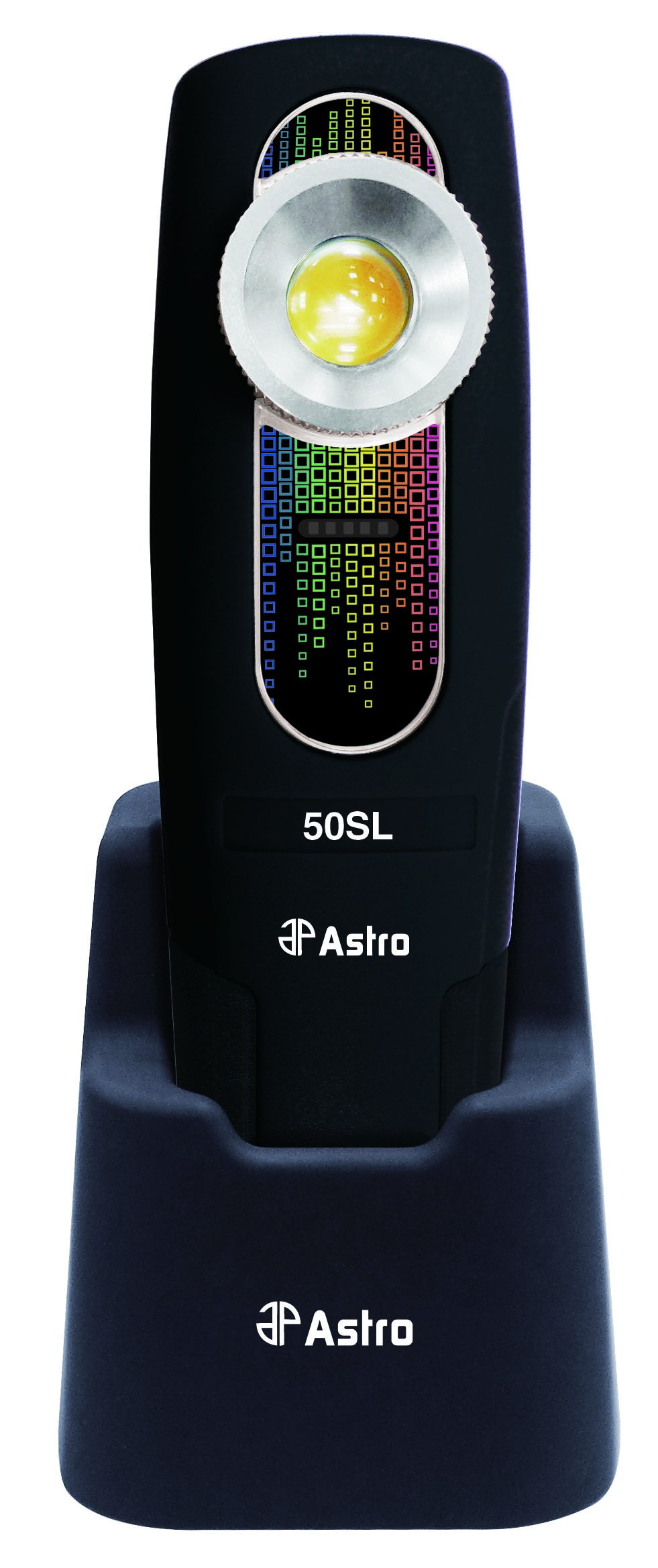 Astro Pneumatic Tool 50SL Sunlight 400 lm CRI 97 Rechargeable Handheld Color Match Light by Astro Pneumatic Tool
