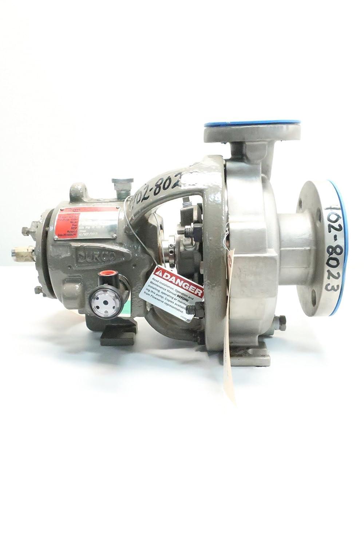FLOWSERVE MK3 STD DURCO 1-1/2X3X6 Stainless Centrifugal Pump