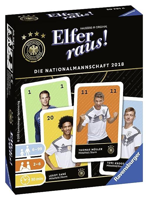 Ravensburger 20791 elfer Raus la Selección 2018 Juego de ...