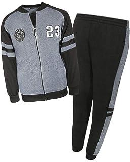 3f2cfa4d6 Amazon.com: SKYLINEWEARS Kids Boys Sweatsuit Tracksuit Sweatshirt ...