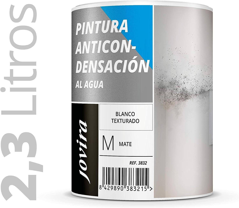 ANTICONDENSACION Antihumedad Antimoho, anti-condensacion antimoho exterior-interior. Soluciona problemas de condensación por humedad ambiental.(2,3L, BLANCO)