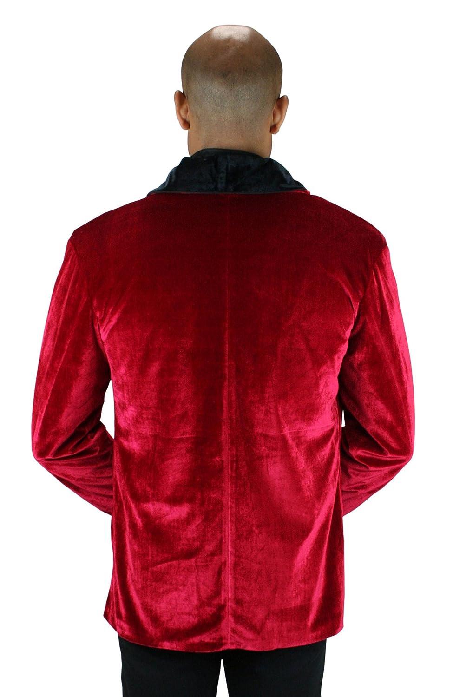 ee06fbd7e77 Amazon.com  Historical Emporium Men s Vintage Velvet Smoking Jacket   Clothing