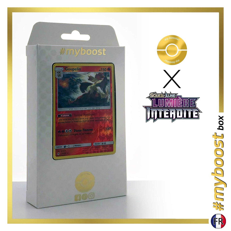 Delphox 17//131 Holo Reverse Box de 10 cartas Pok/émon Inglesas #myboost X Sun /& Moon 6 Forbidden Light
