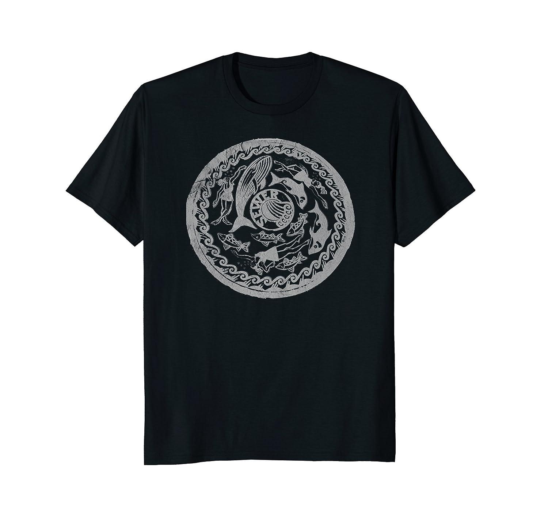 Amazon Manhole Cover Print Shirt Seattle Washington Industrial