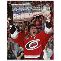 $37 » Rod Brind'Amour Carolina Hurricanes Autographed 2006 Stanley Cup 8x10 Photo - Autographed NHL Photos