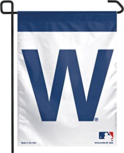 MLB Chicago Cubs Garden Flag - W Logo