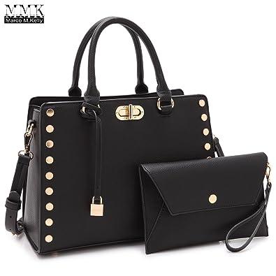 a471511221fc MMK Collection Women s Handbags   Purse Ladies Designer Satchel Handbag  Tote Purse Shoulder Bags Fashion Briefcase