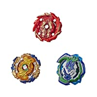 BEYBLADE Burst Rise Hypersphere Battle Hunters 3-Pack -- Wizard Fafnir F5, Ogre O5, Bushin Ashindra A5 Battling Top Toys (Amazon Exclusive)