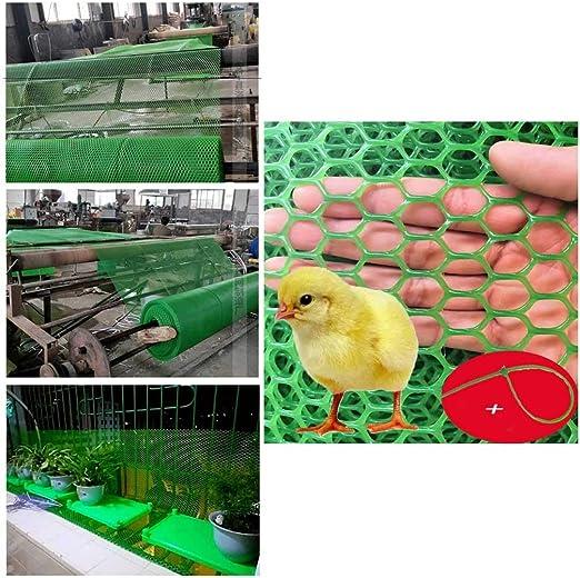 Balcón Y Escalera Barandilla de Seguridad Protector de Plástico con Cable de Plástico, Lazos Verdes Seguridad Acoplamiento de La Red, Juguete del Niño Los Niños Pet Protector De Seguridad Escaleras: Amazon.es: Productos