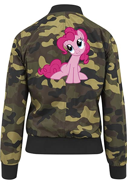 Certified Freak Pinkie Pony Bomber Chaquet Girls Camuflaje: Amazon.es: Ropa y accesorios