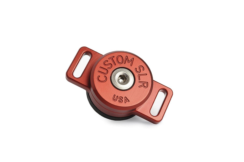 カスタムSLR c-loop HDカメラストラップマウントソリューション – レッド B006L18UHM