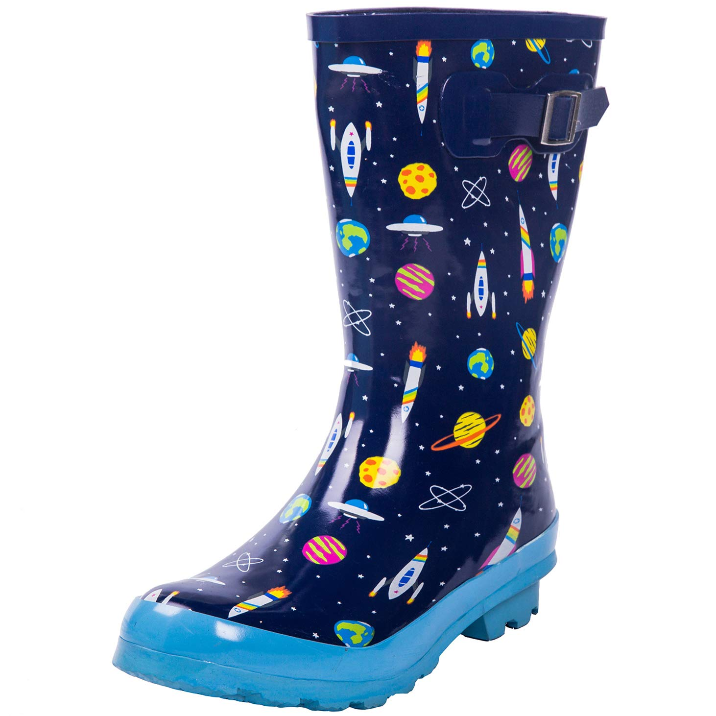 AMAWEI Kids Rain Boots Boys Girls Toddler/Little Kids/Big Kids Rubber Waterproof Garden Shoes