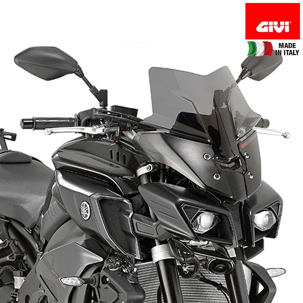 Givi Sport Screen, Yamaha FZ-10, Dark Smoke