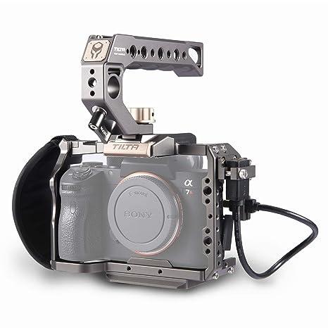 Tilta TA-T17-A-G Camera Cage Cámara Jaula para Sony A7SII / A9 ...