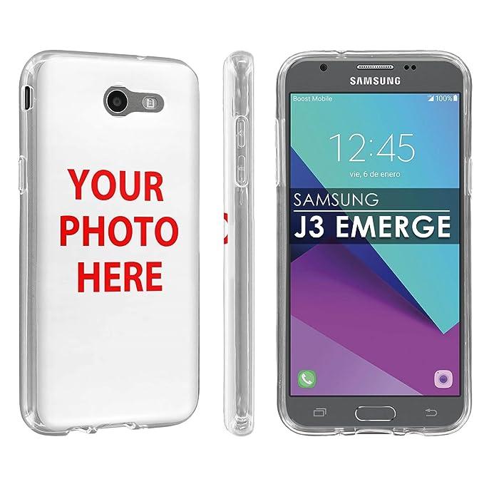cheap for discount adb56 dd9cd Amazon.com: [POPCulture] Custom Rugged Case For Galaxy [2017] [J3 ...