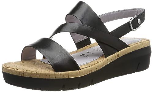 Tamaris Women's 1 1 28011 32 001 Open Toe Sandals: Amazon.co