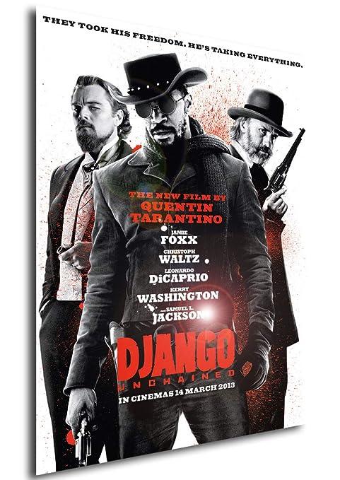 Instabuy Poster Cartel de pelicula - Django desencadenado (A3 42x30)